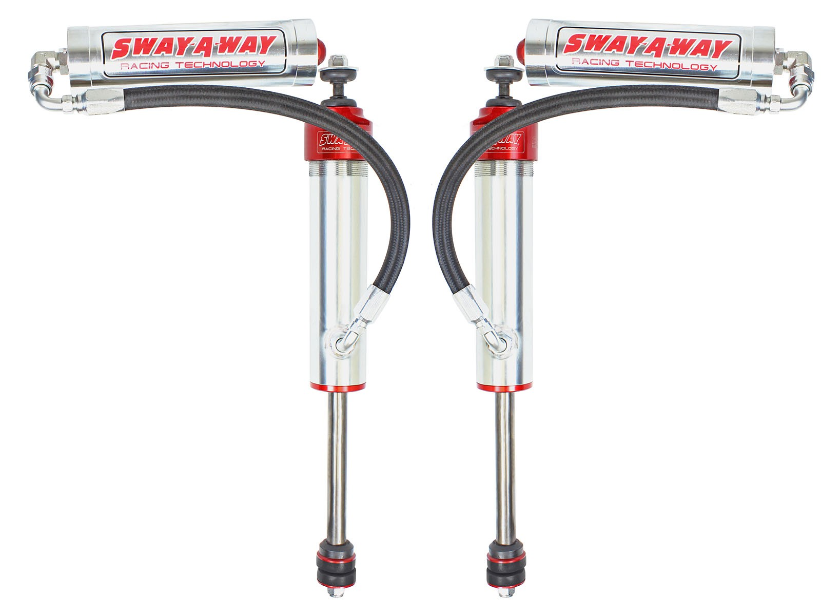 "Sway-A-Way 201-5600-05 aFe Control Sway-A-Way 2.5"" Front Shock Kit w/ Remote Reservoir"