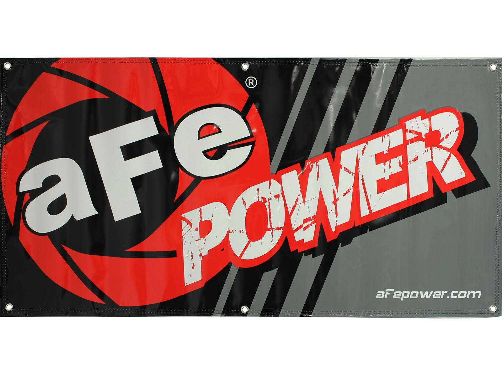 aFe POWER 40-10038 Banner, 3' x 8' ft.; aFe Power