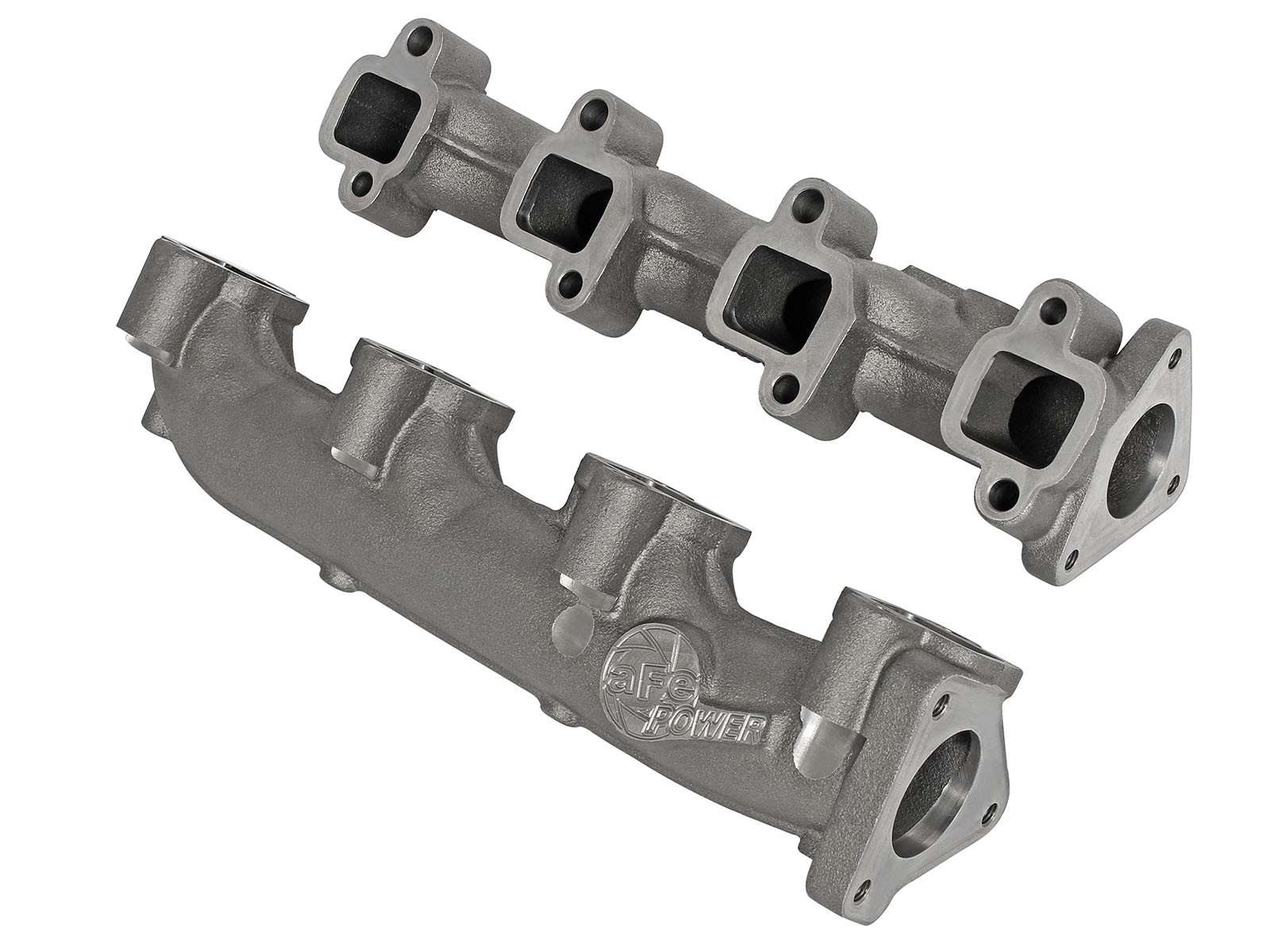 aFe POWER 46-40024 BladeRunner Ported Ductile Iron Exhaust Manifolds