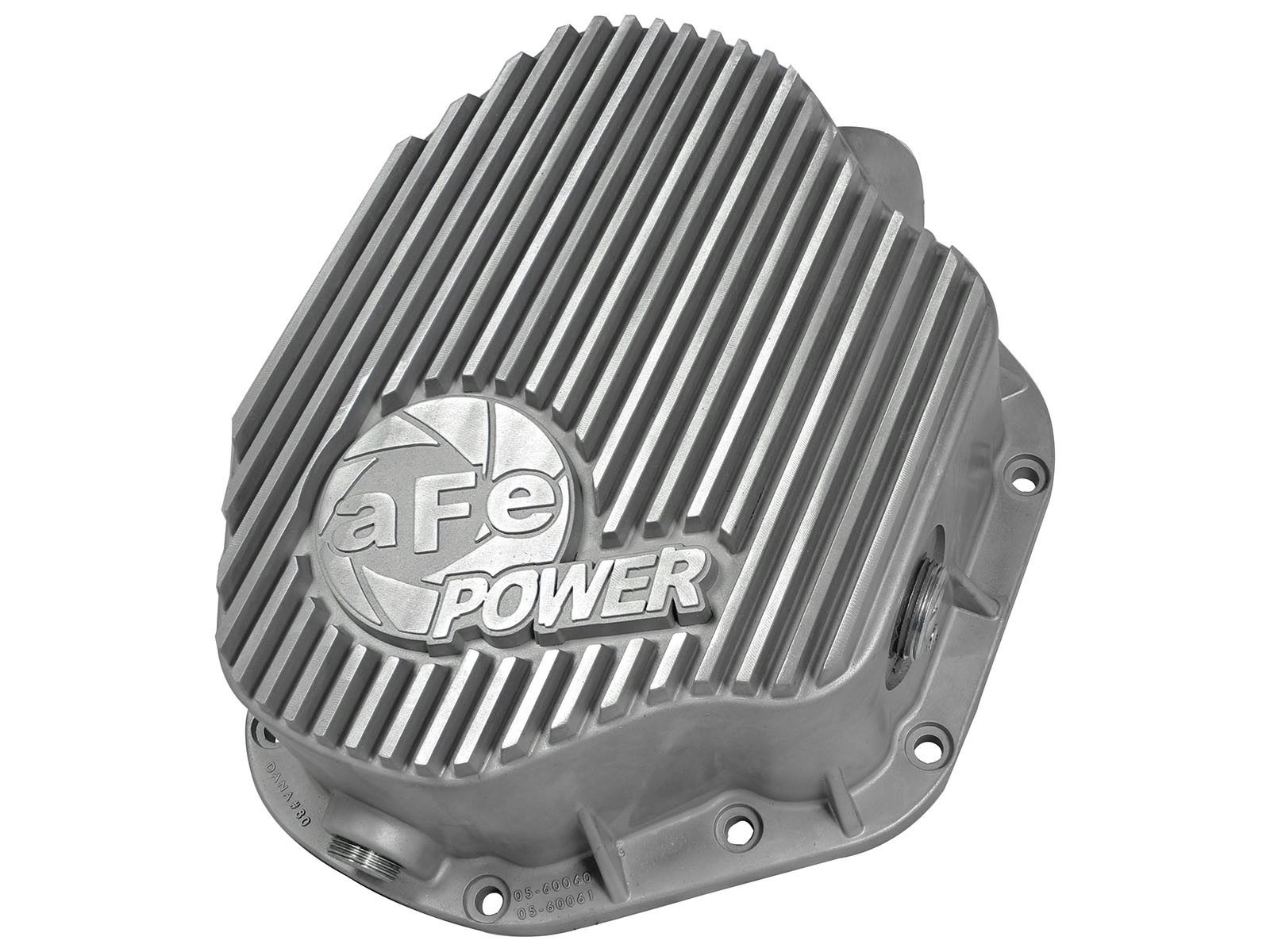 aFe POWER 46-70030 Rear Differential Cover, Raw Finish; Street Series