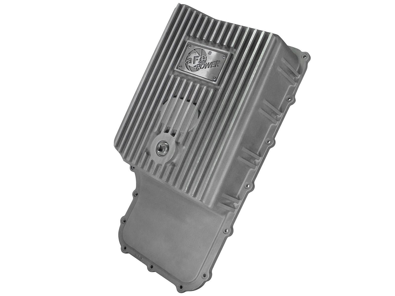 aFe POWER 46-70180 Transmission Pan, Machined Fins