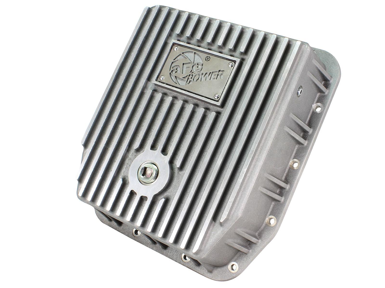 aFe POWER 46-70220 Transmission Pan, Machined Fins
