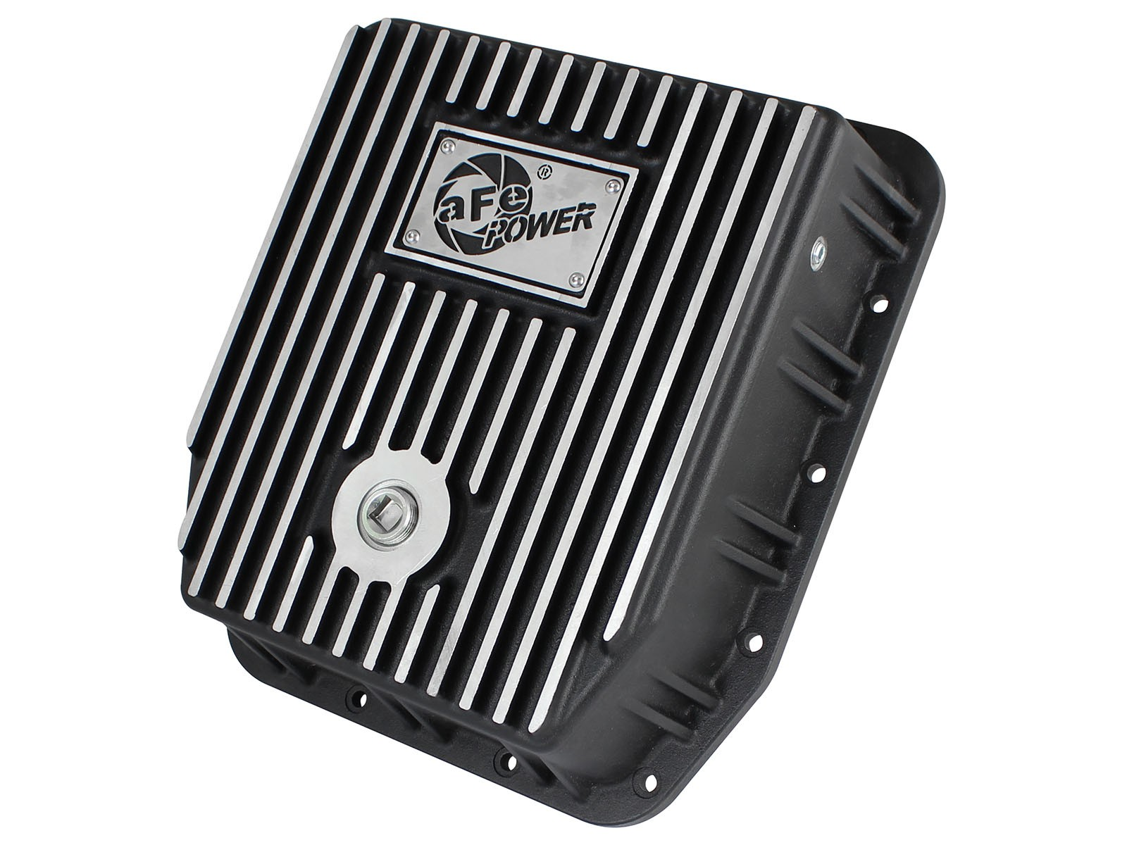 aFe POWER 46-70222 Transmission Pan, Machined Fins