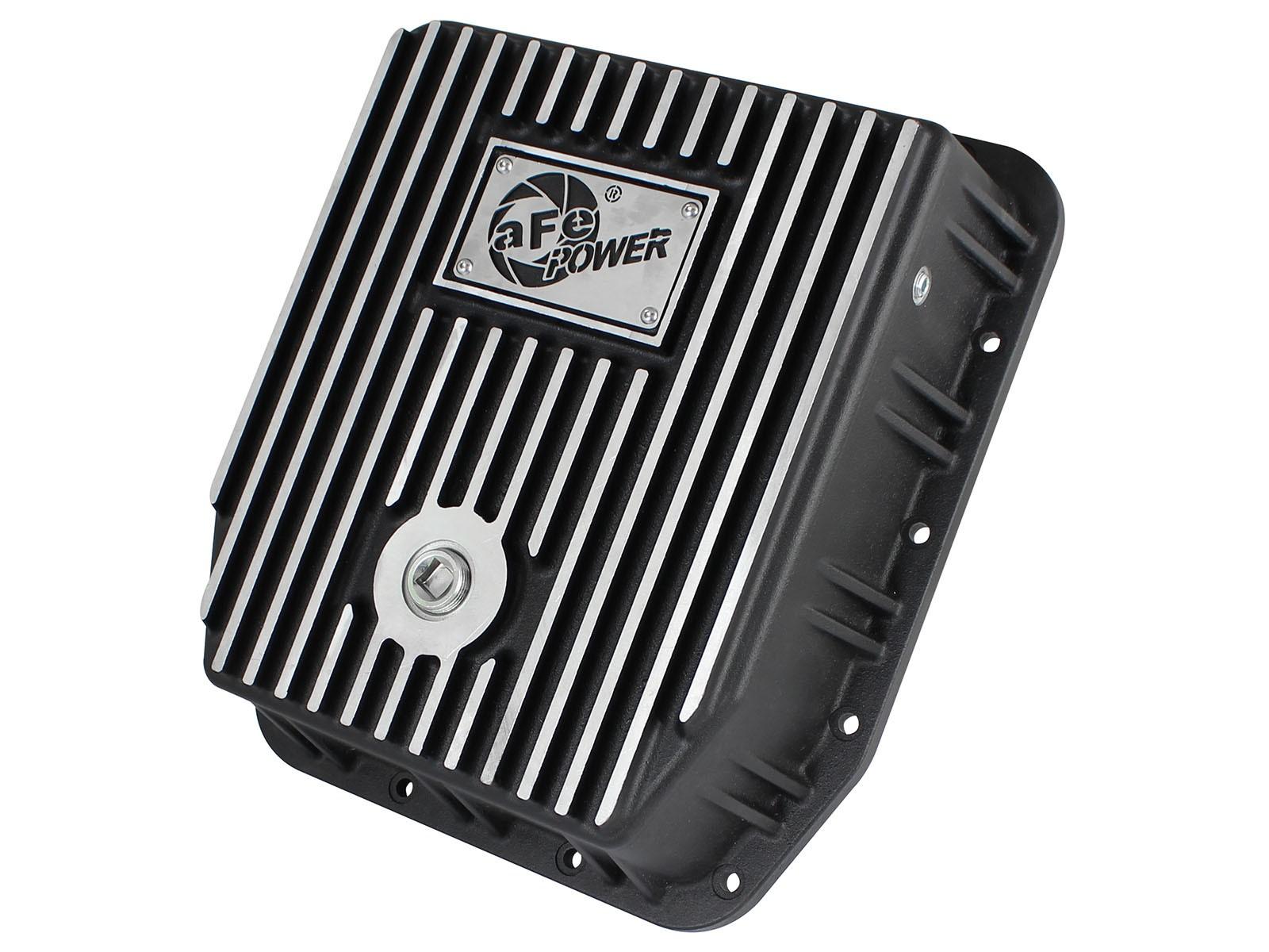 aFe POWER 46-70222 Transmission Pan, Machined Fins