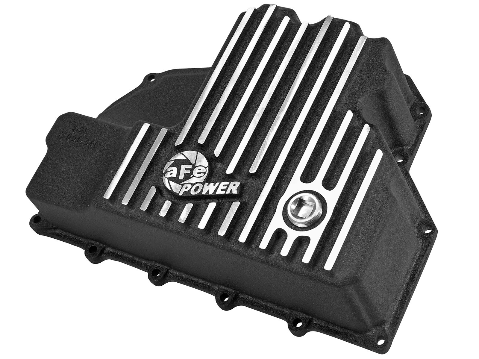 aFe POWER 46-70282 Engine Oil Pan; Machined Fins