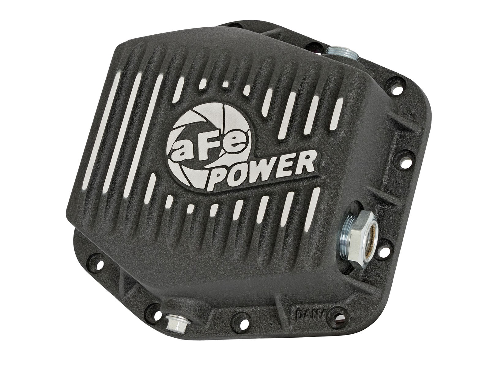 aFe POWER 46-70302 Rear Differential Cover, Machined Fins; Pro Series