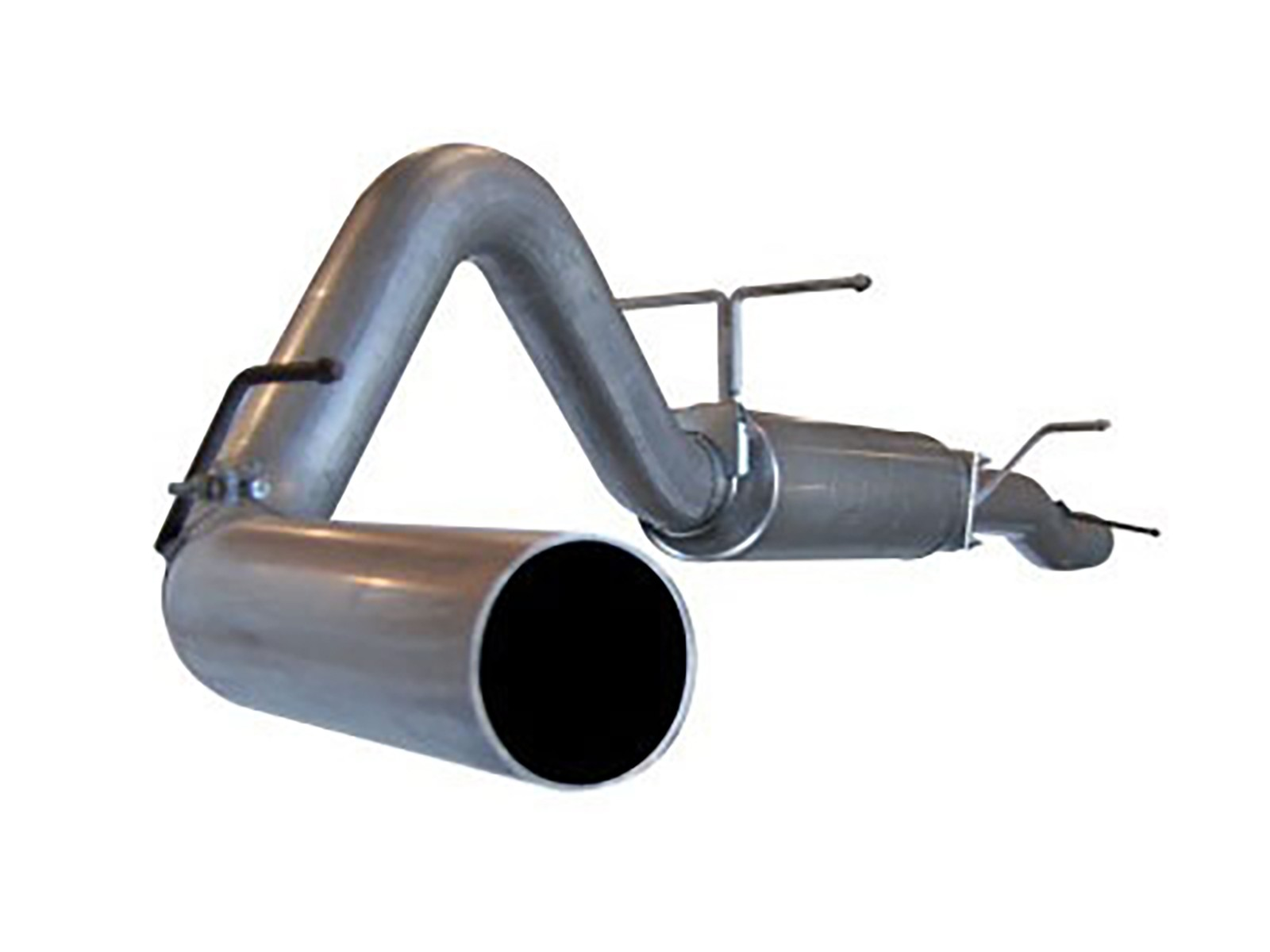 """aFe POWER 49-13003 Large Bore-HD 4"""" 409 Stainless Steel Cat-Back Exhaust System"""