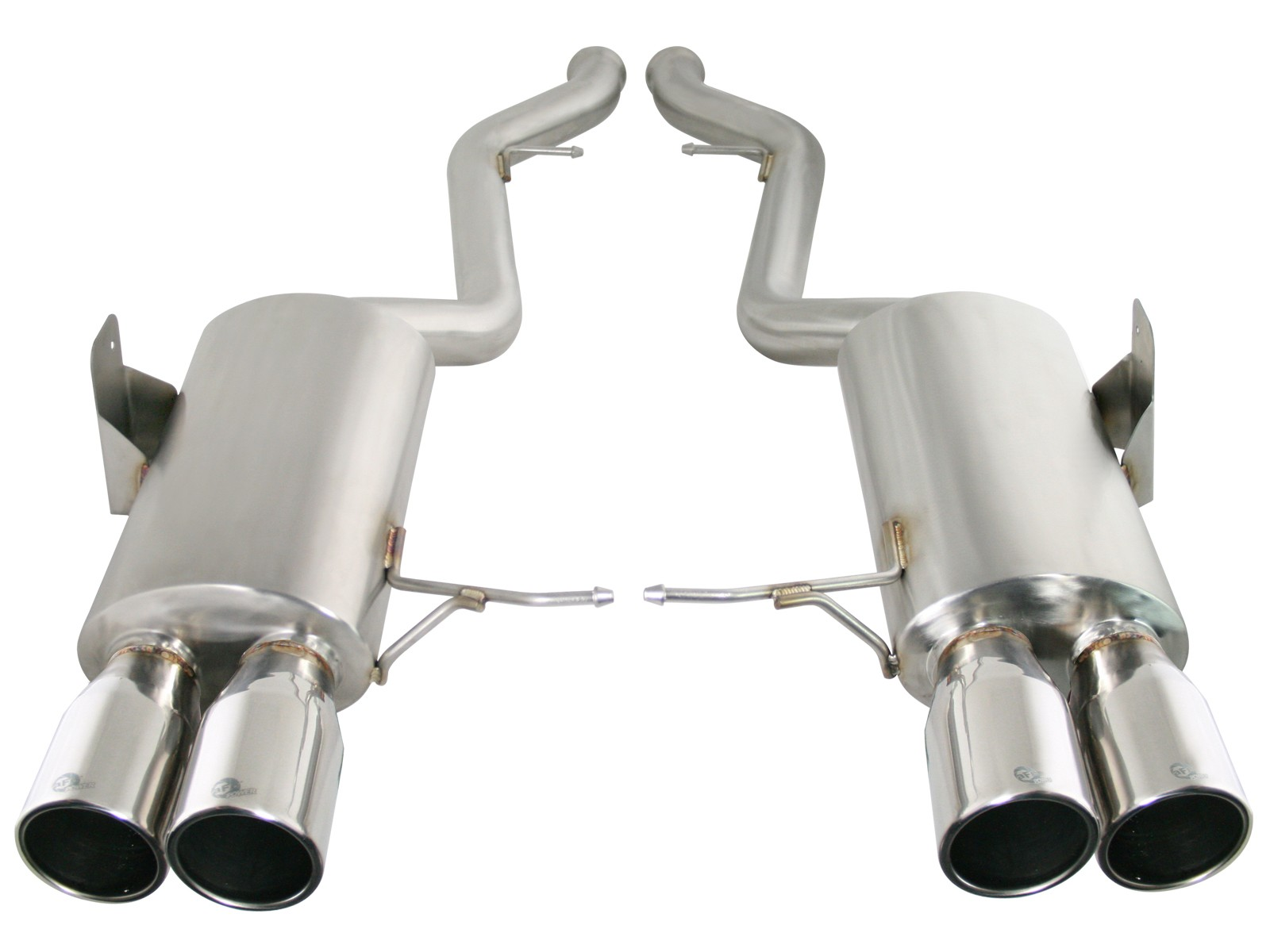 """aFe POWER 49-36312-P MACH Force-Xp 2-1/2"""" 304 Stainless Steel Cat-Back Exhaust System"""