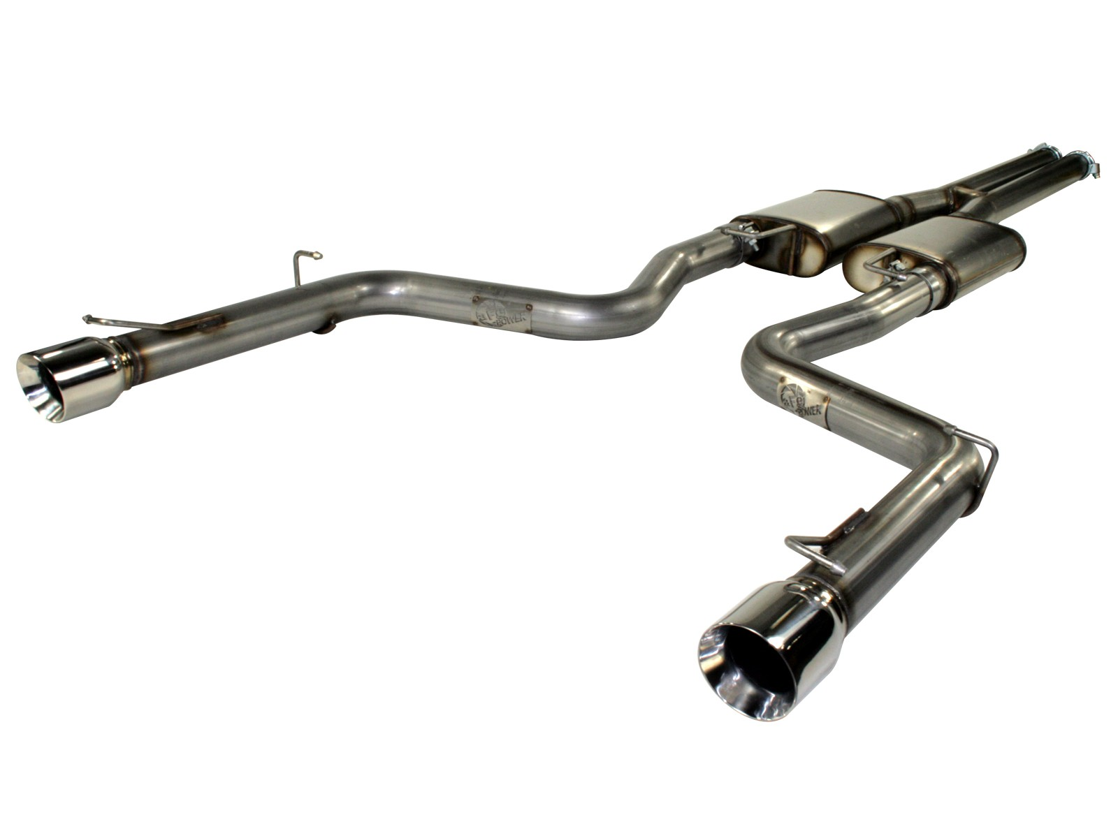 "aFe POWER 49-42024 MACH Force-Xp 3"" 409 Stainless Steel Cat-Back Exhaust System"