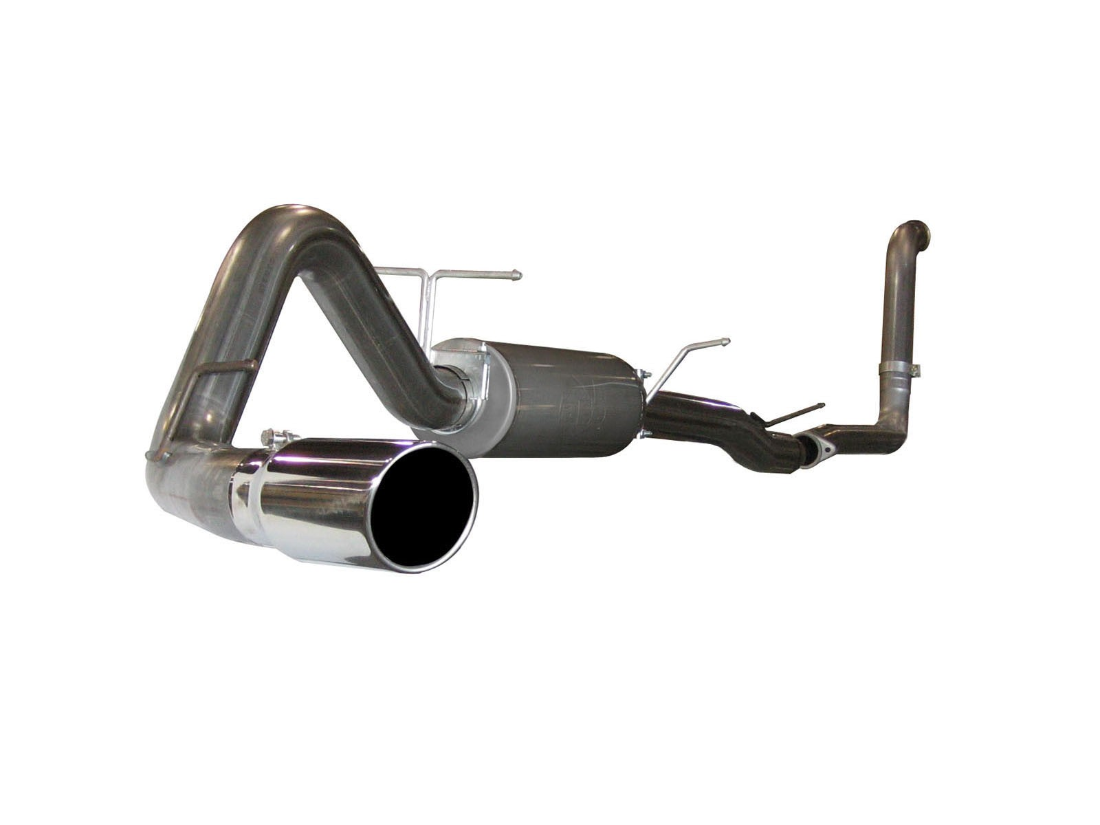 """aFe POWER 49-43005 Large Bore-HD 4"""" 409 Stainless Steel Turbo-Back Exhaust System"""
