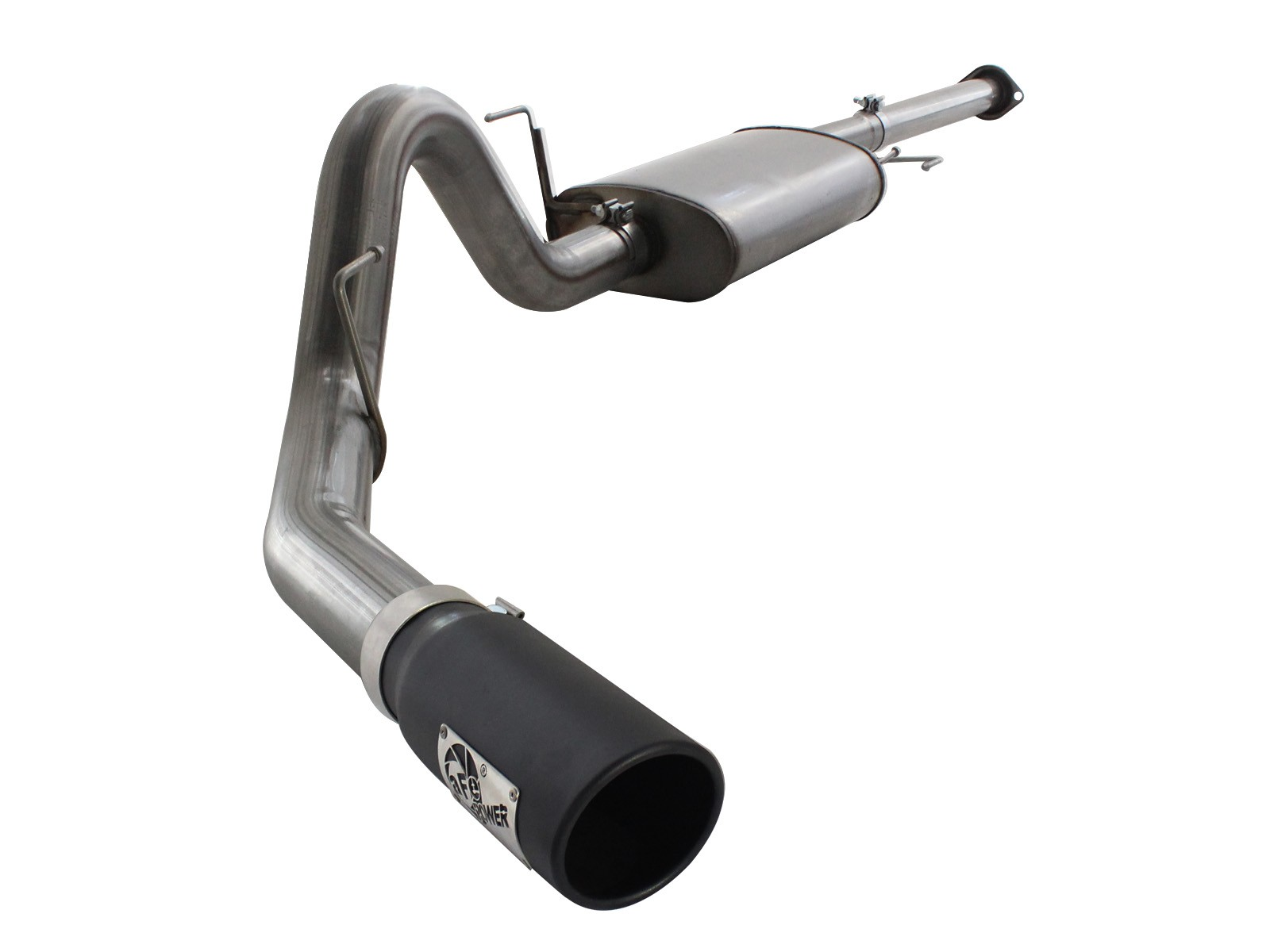 "aFe POWER 49-43038-B MACH Force-Xp 3"" to 3-1/2"" 409 Stainless Steel Cat-Back Exhaust System"