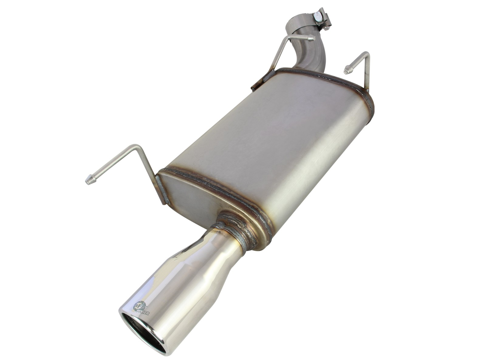 """aFe POWER 49-43048 MACH Force-Xp 2-1/2"""" 409 Stainless Steel Axle-Back Exhaust System"""