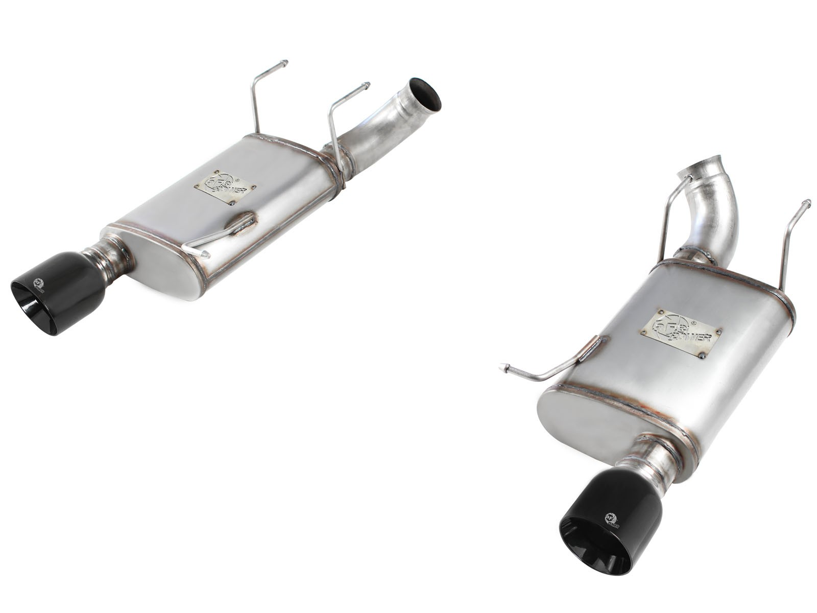 """aFe POWER 49-43052-B MACH Force-Xp 3"""" 409 Stainless Steel Axle-Back Exhaust System"""