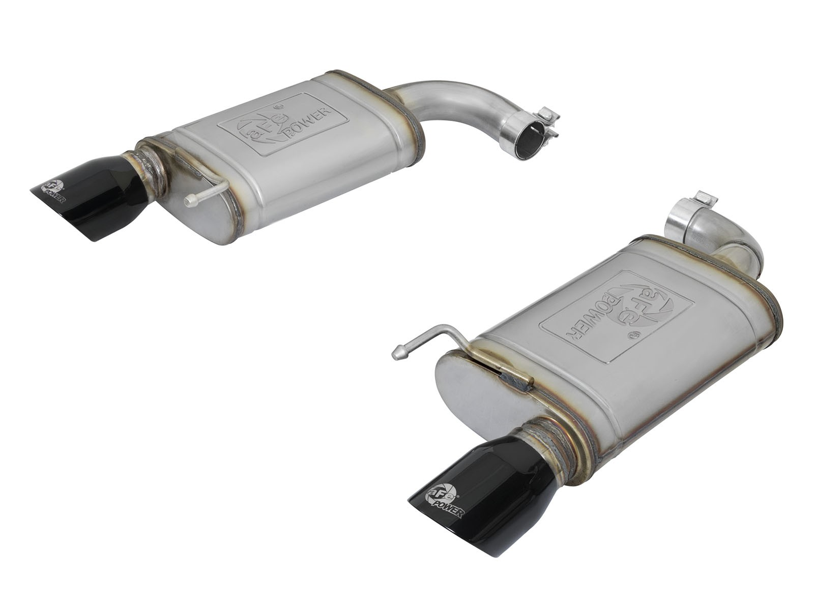 """aFe POWER 49-43085-B MACH Force-Xp 2-1/2"""" 409 Stainless Steel Axle-Back Exhaust System"""