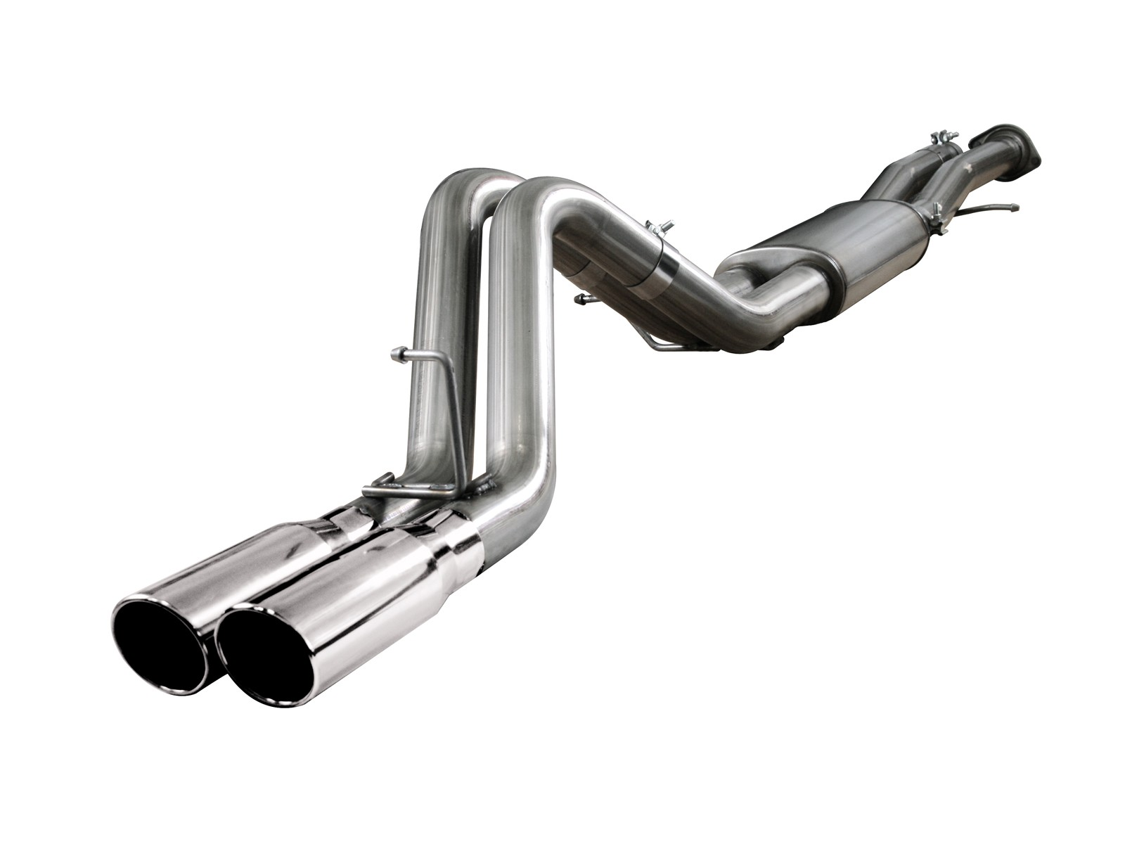 """aFe POWER 49-44010 MACH Force-Xp 3"""" 409 Stainless Steel Cat-Back Exhaust System"""