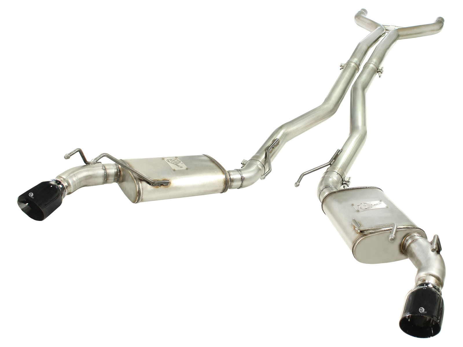 "aFe POWER 49-44039-B MACH Force-Xp 3"" 409 Stainless Steel Cat-Back Exhaust System"