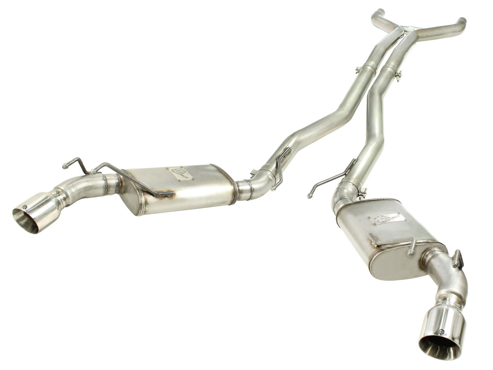 "aFe POWER 49-44039-P MACH Force-Xp 3"" 409 Stainless Steel Cat-Back Exhaust System"