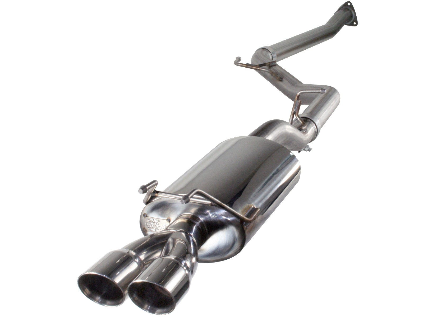 """aFe POWER 49-46601 Takeda 2-1/2"""" 409 Stainless Steel Cat-Back Exhaust System"""