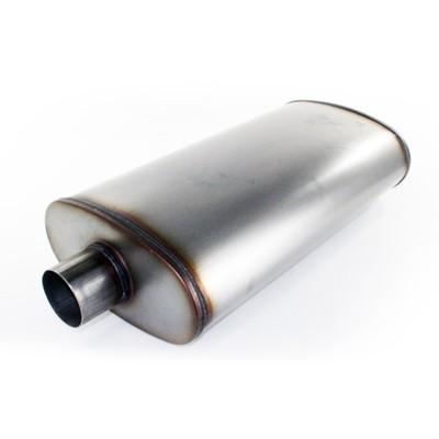 "aFe POWER 49-91010 MACH Force-Xp 3"" 409 Stainless Steel Muffler"