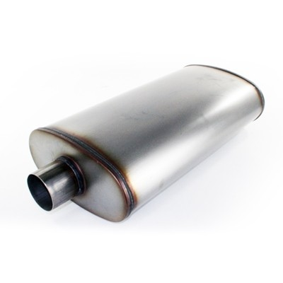 "aFe POWER 49-91010 MACH Force-Xp 3"" 409 Stainless Steel Muffler"