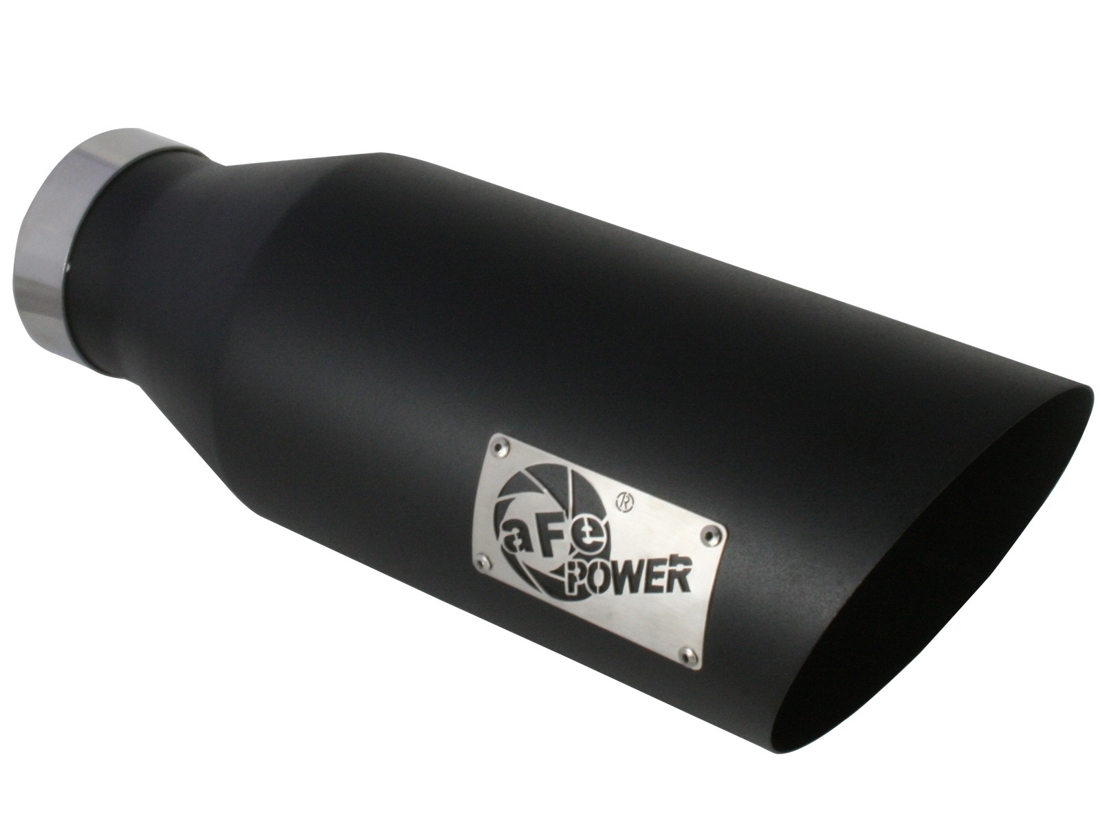 """aFe POWER 49-92023-B MACH Force-Xp 4"""" 409 Stainless Steel Exhaust Tip"""