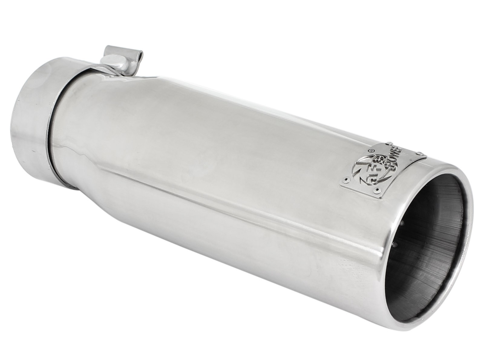 """aFe POWER 49-92043-P MACH Force-Xp 3"""" 304 Stainless Steel Exhaust Tip"""