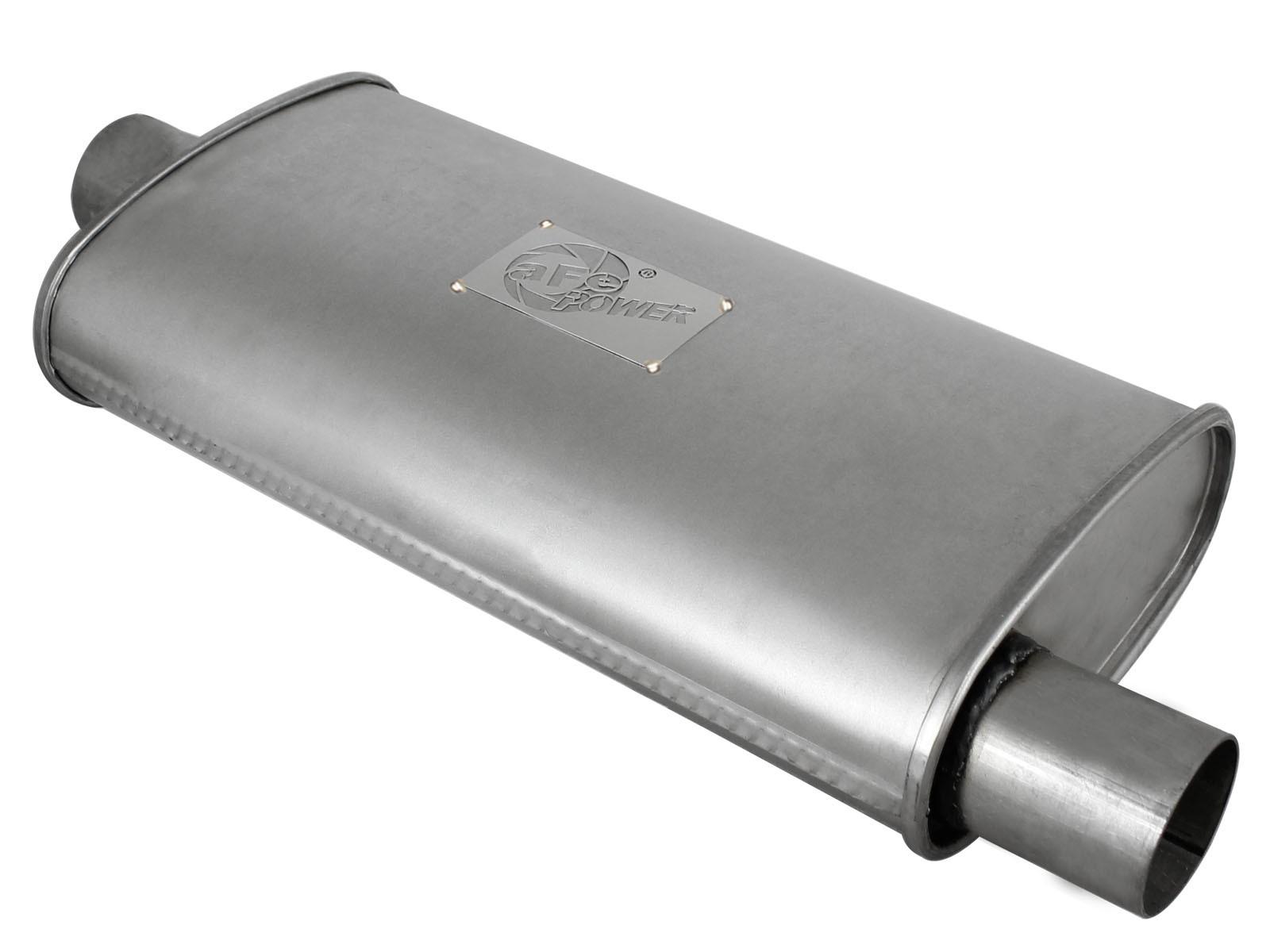 "aFe POWER 49M00002 Scorpion 2-1/2"" Aluminized Steel Muffler"