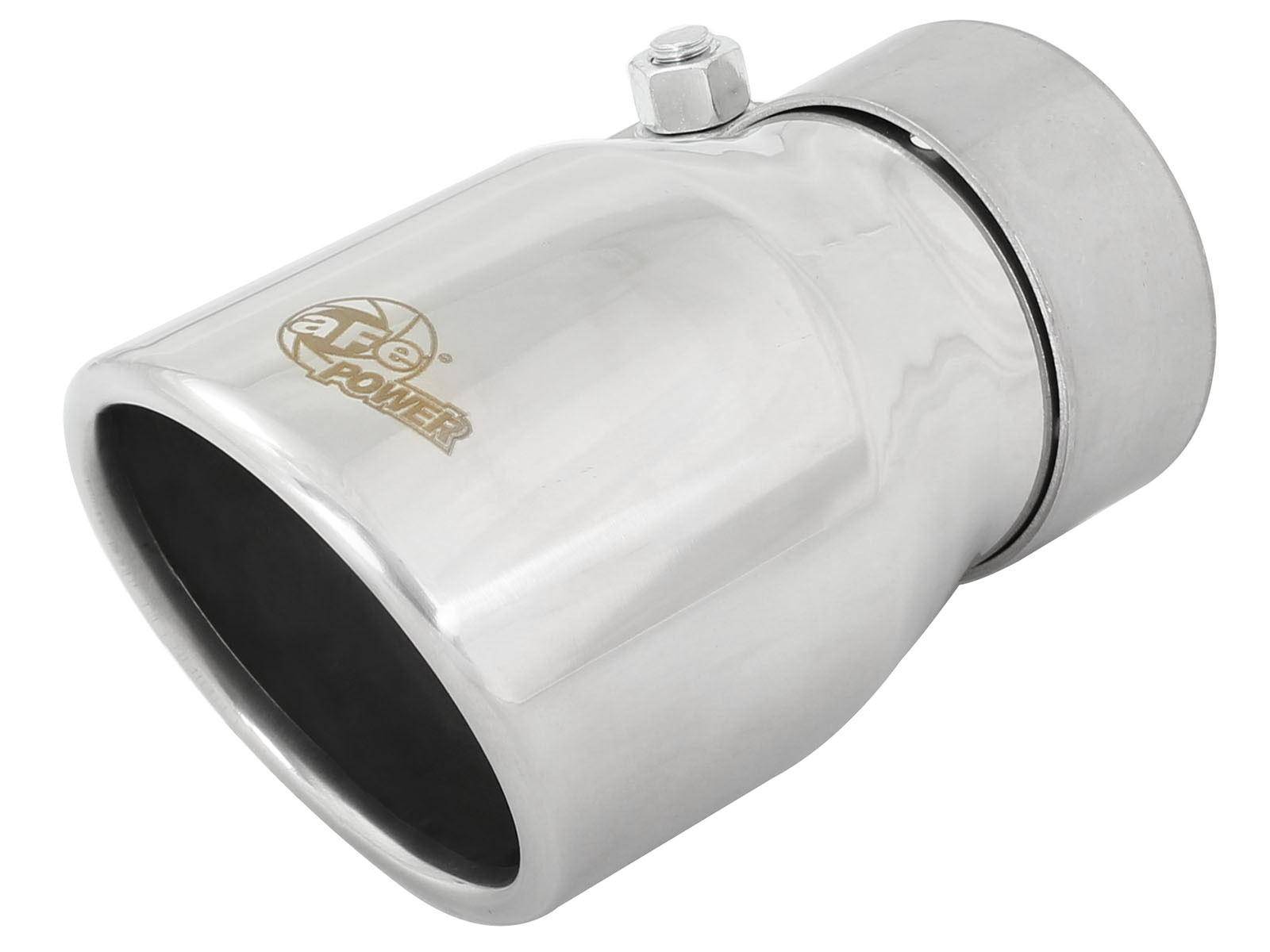 "aFe POWER 49T25354-P06 MACH Force-Xp 2-1/2"" 304 Stainless Steel Exhaust Tip"