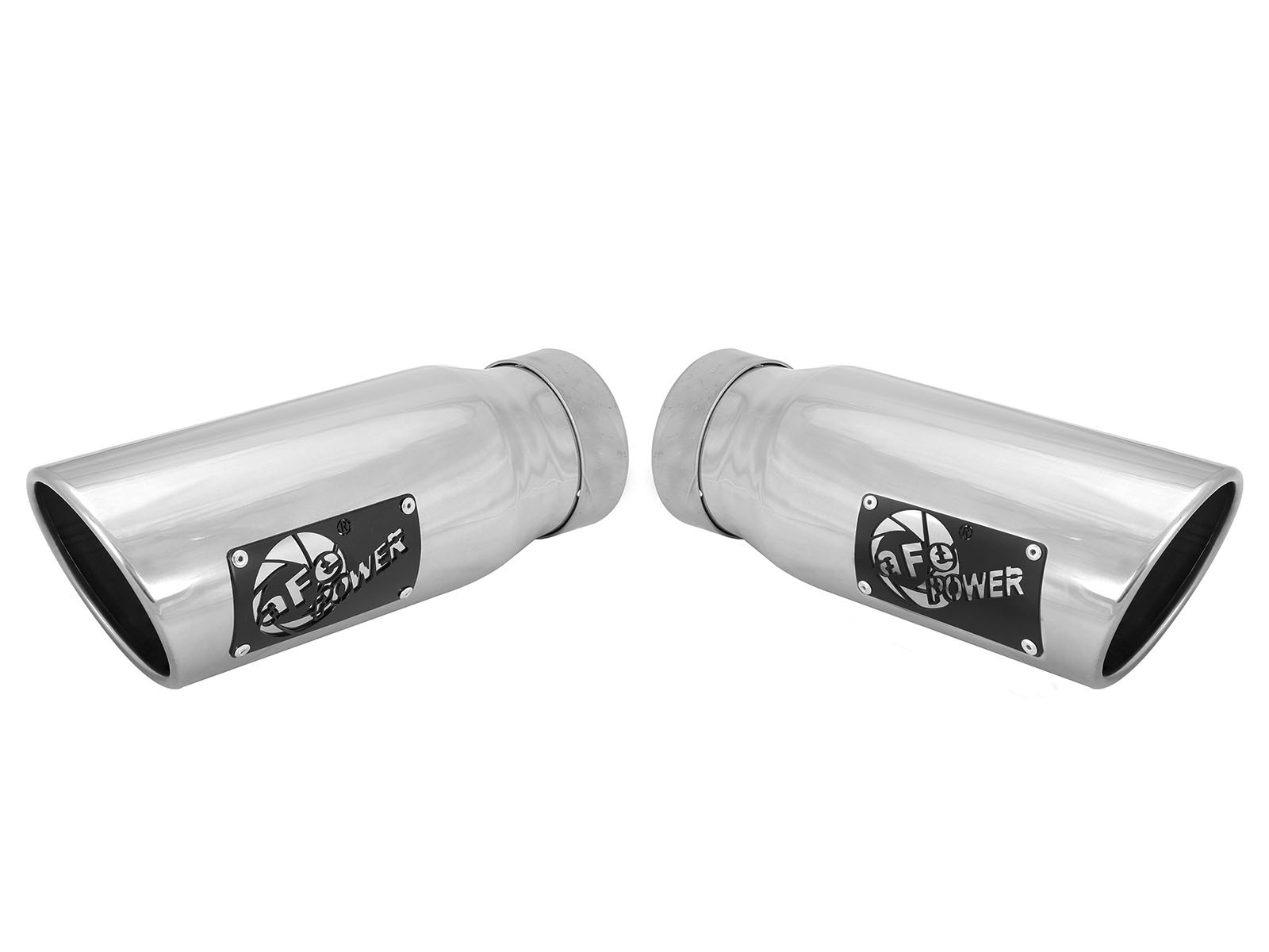 "aFe POWER 49T35456-P12 MACH Force-Xp 3-1/2"" 304 Stainless Steel Exhaust Tip"
