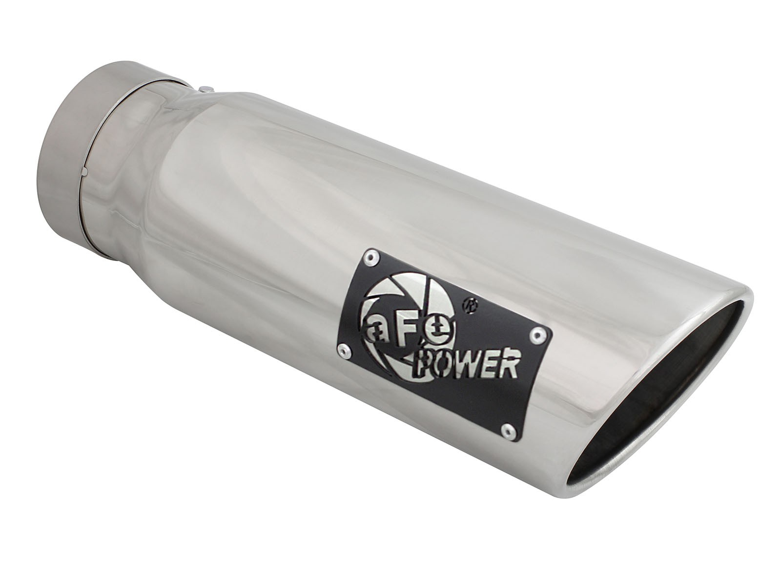 "aFe POWER 49T40501-P15 MACH Force-Xp 4"" 304 Stainless Steel Exhaust Tip"