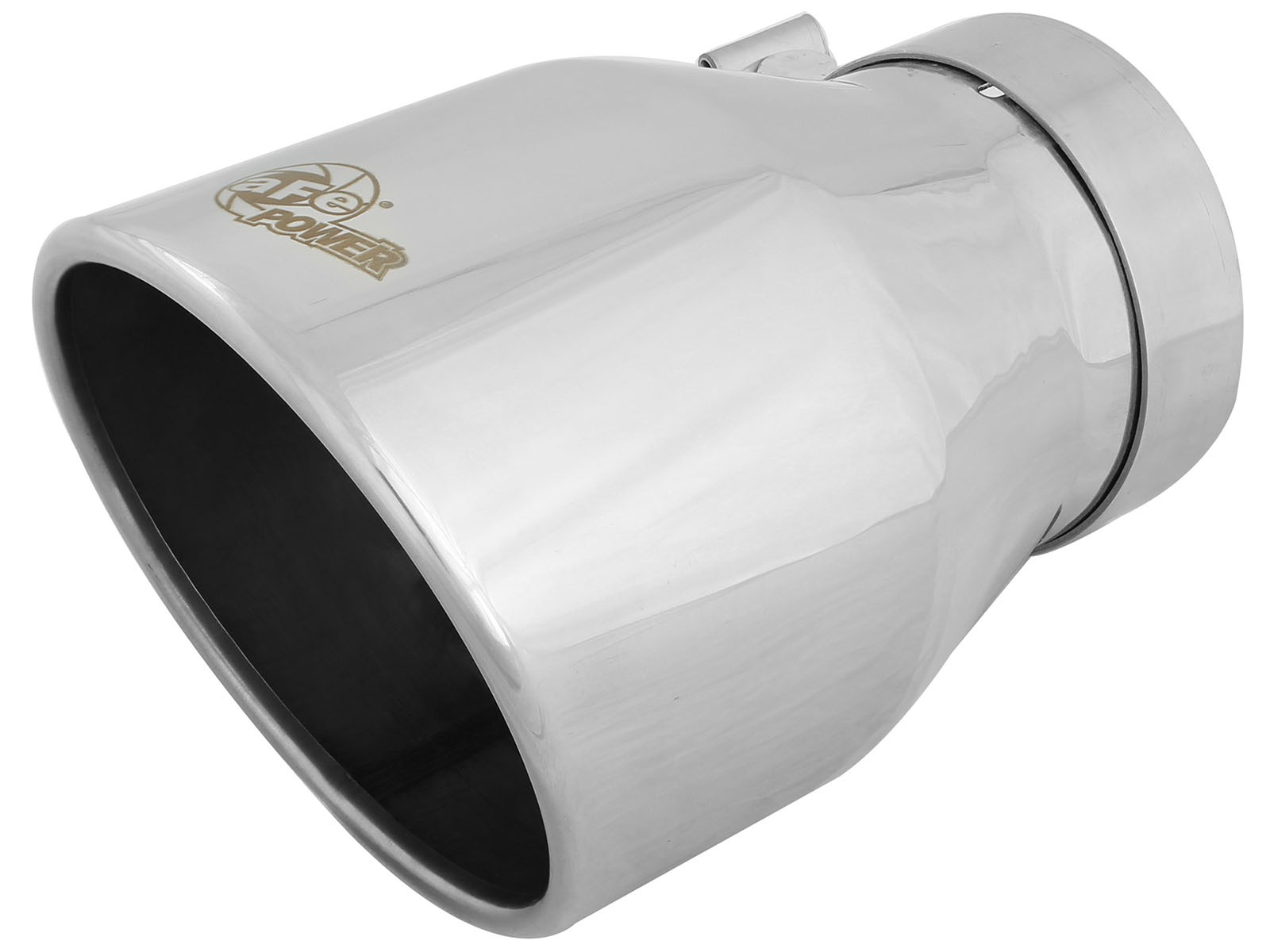"""aFe POWER 49T40604-P09 MACH Force-Xp 4"""" 304 Stainless Steel Exhaust Tip"""