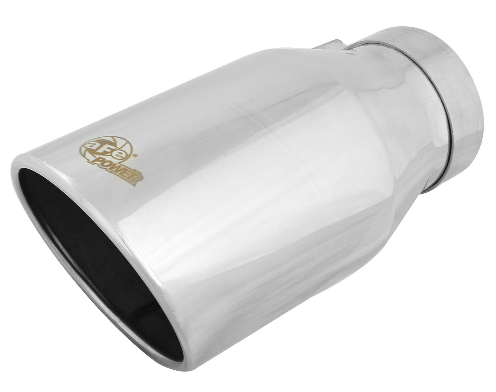 "aFe POWER 49T40604-P12 MACH Force-Xp 4"" 304 Stainless Steel Exhaust Tip"