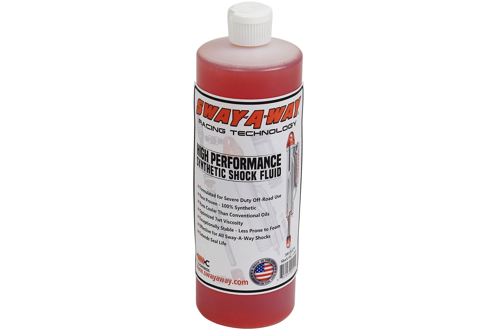 aFe POWER 50010-SP30 aFe Control Sway-A-Way Shock Oil, 1 Quart