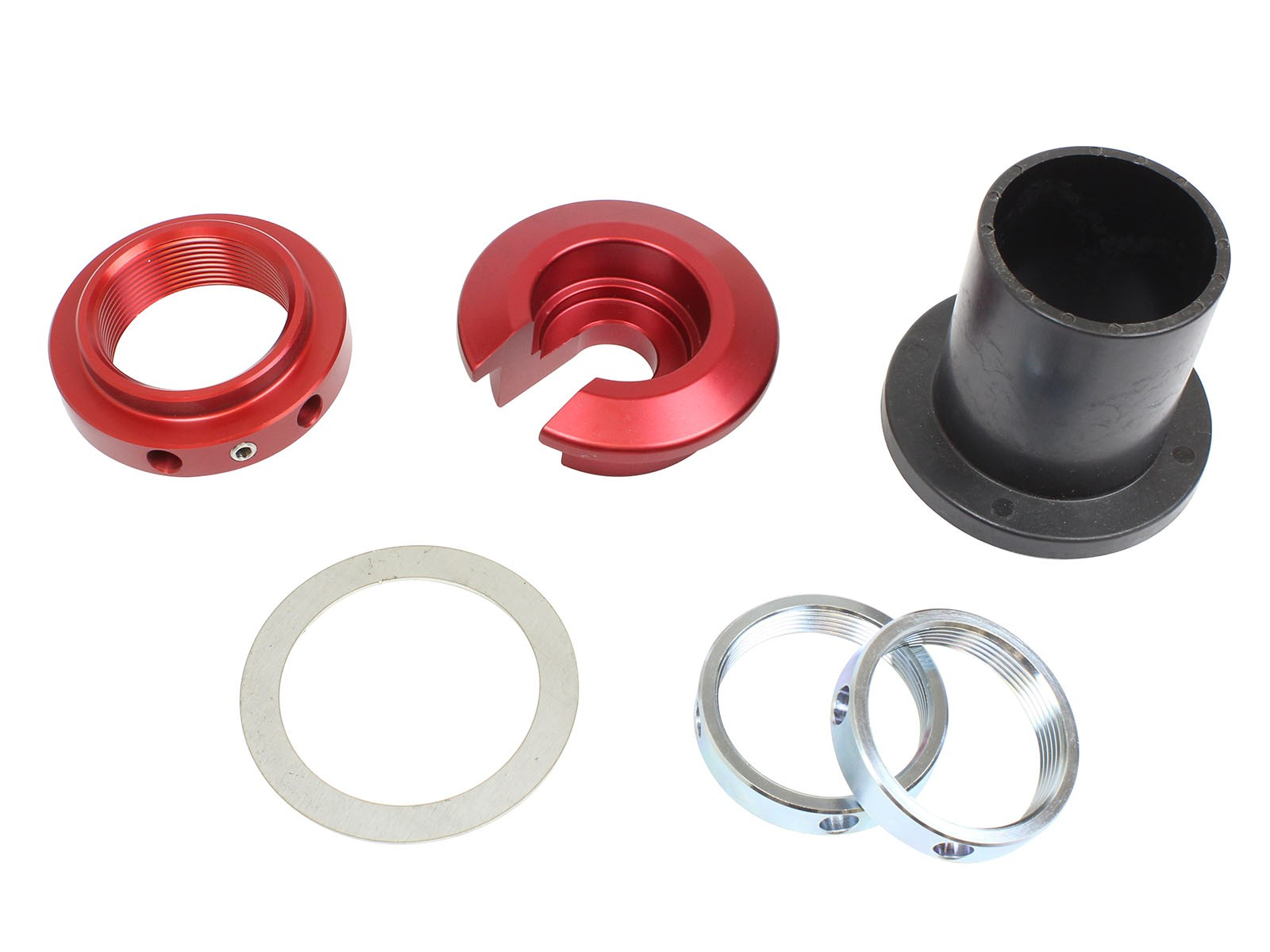 """aFe POWER 52104-SP23 aFe Control Sway-A-Way 2.0"""" Coilover Hardware Kit, Dual Rate, Dropped Seat"""
