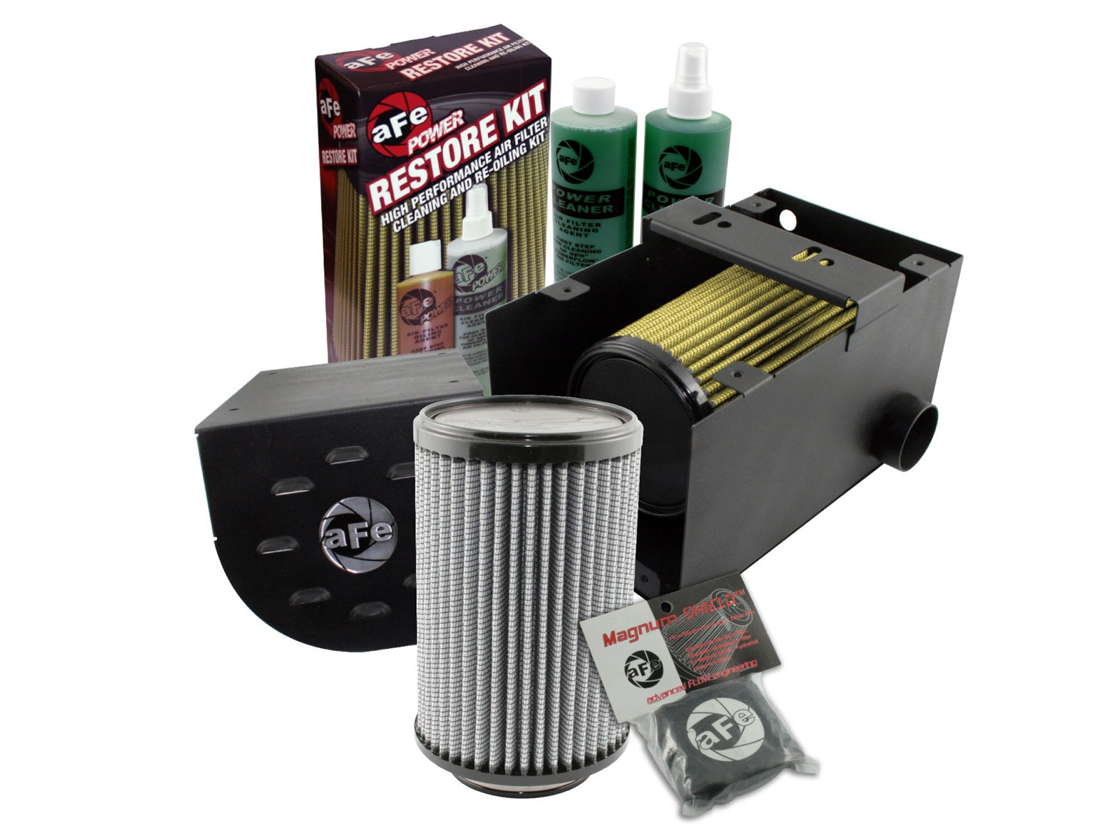 aFe POWER 85-10024 Aries Powersport Stage-1 Pro GUARD7 Cold Air Intake System