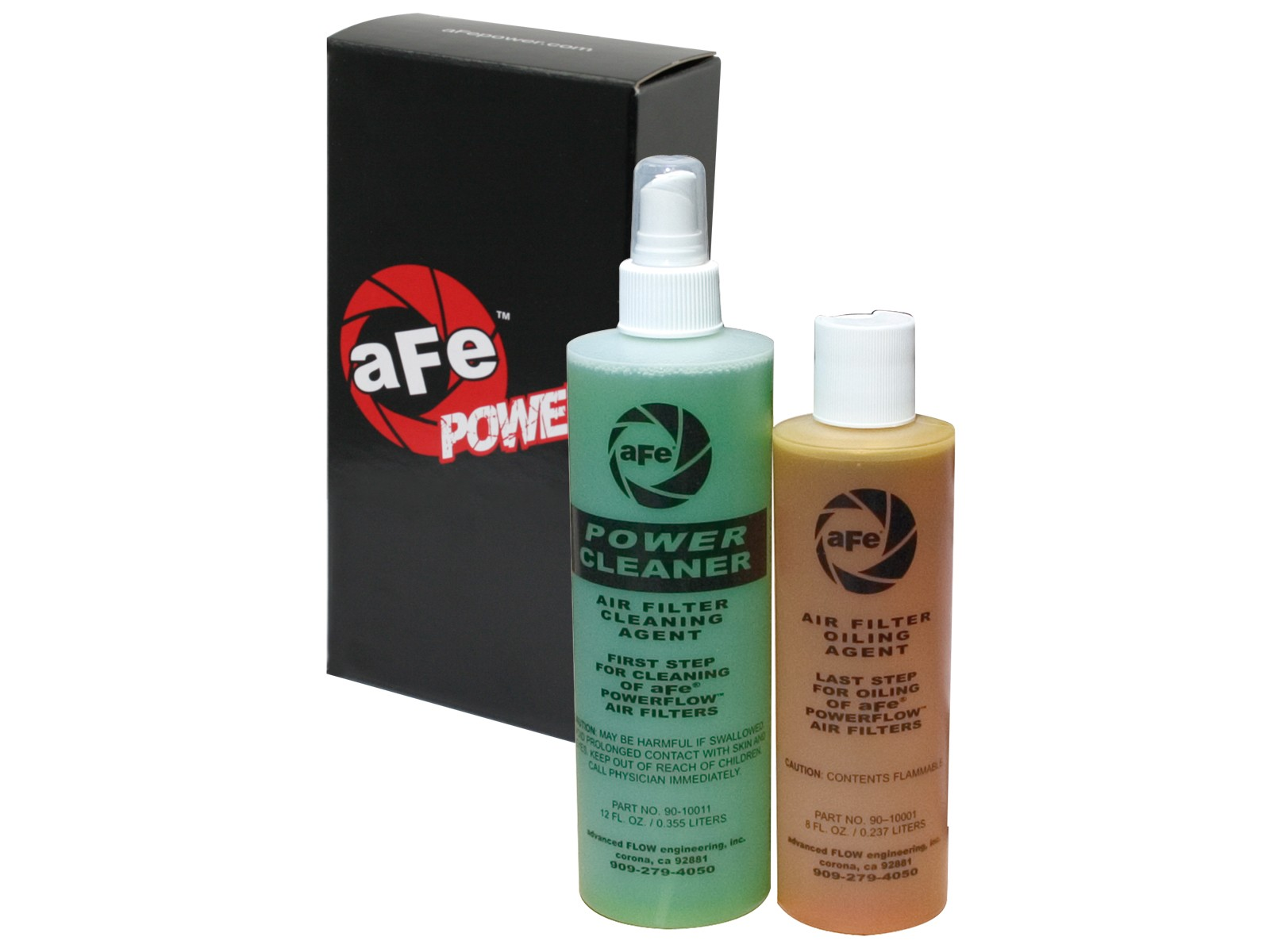 aFe POWER 90-50500 Magnum FLOW Chemicals; Restore Kit: Squeeze, 8 oz; Gold Oil & Cleaner