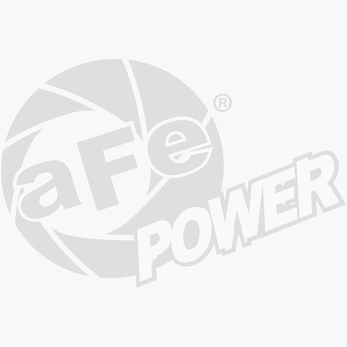 aFe POWER 40-10107 Badge aFe Power Urocal Large; 3.27 in x 5 in