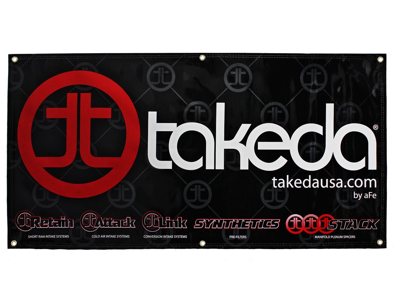 aFe POWER TP-7001B Banner, 2' x 4'; Takeda