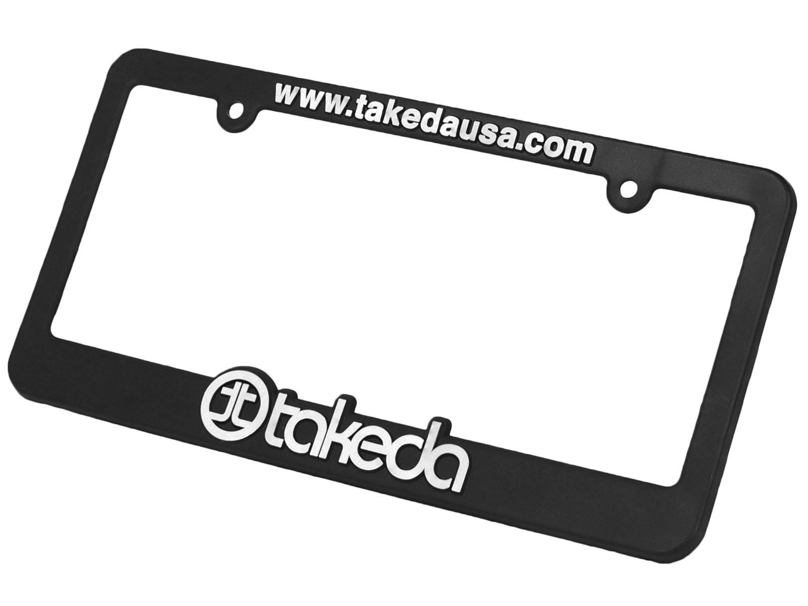 aFe POWER TP-7014F License Plate Frame: Takeda
