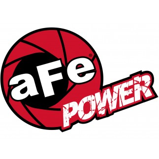 aFe POWER Circle Decal - 2-1/2