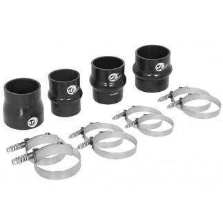 BladeRunner Intercooler Couplings & Clamps Kit; aFe GT Series Intercooler & aFe Tubes