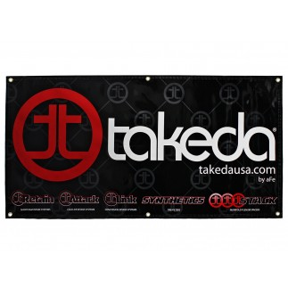 Banner, 2' x 4'; Takeda