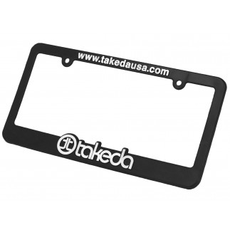 License Plate Frame: Takeda