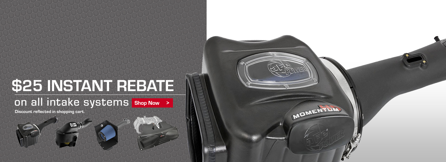 $25 Intake Instant Rebate