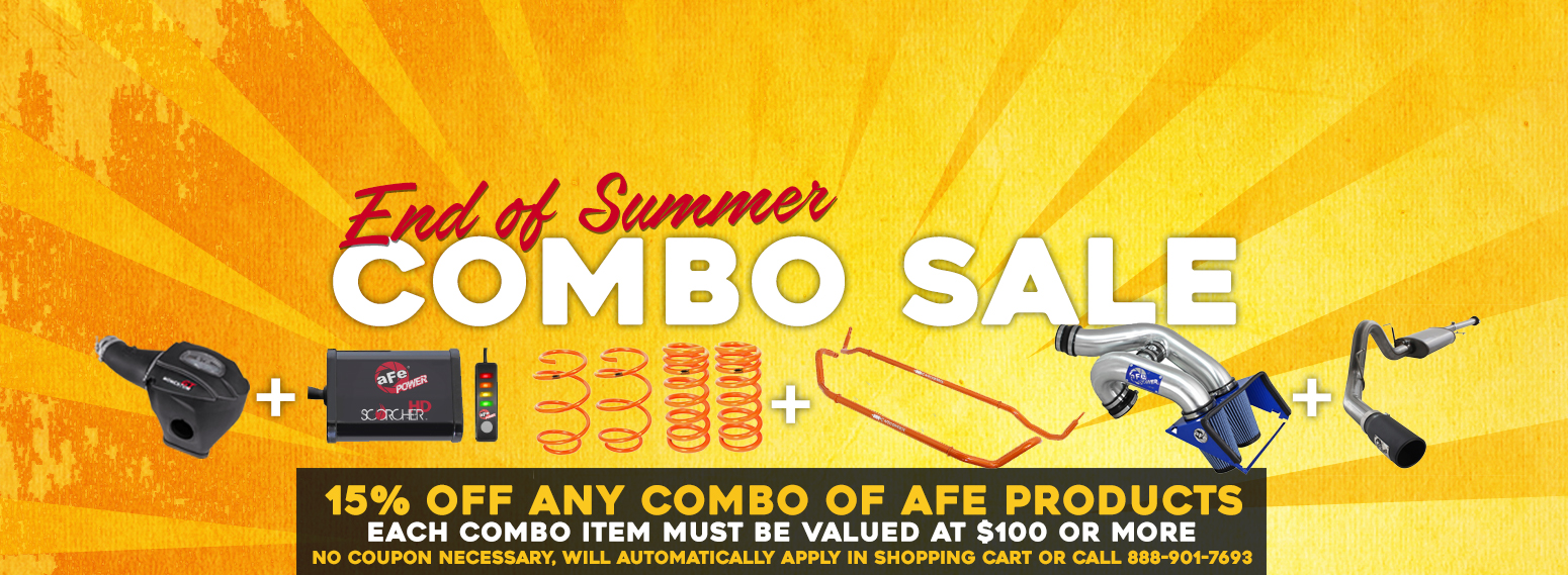 End of Summer Combo Sale