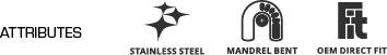 Twisted Steel Attributes