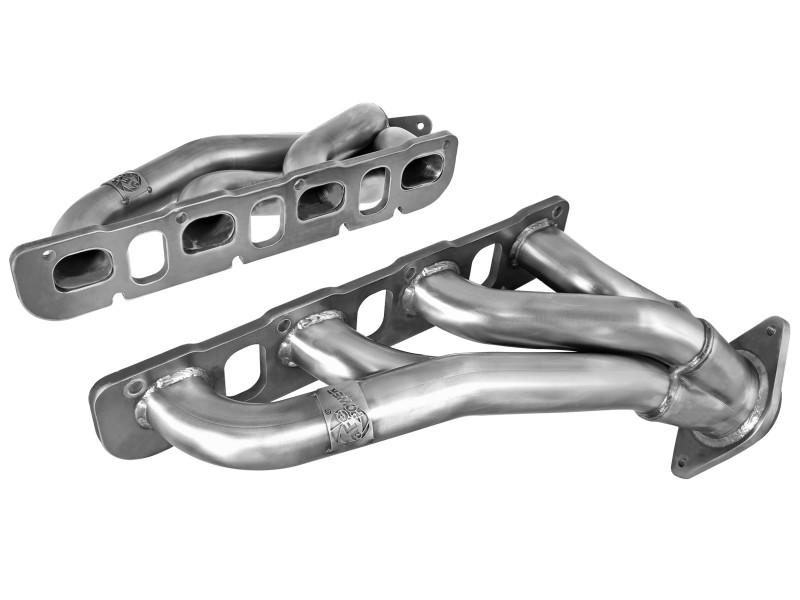 Dodge challenger SRT 11-15 6.4L shorty headers 1