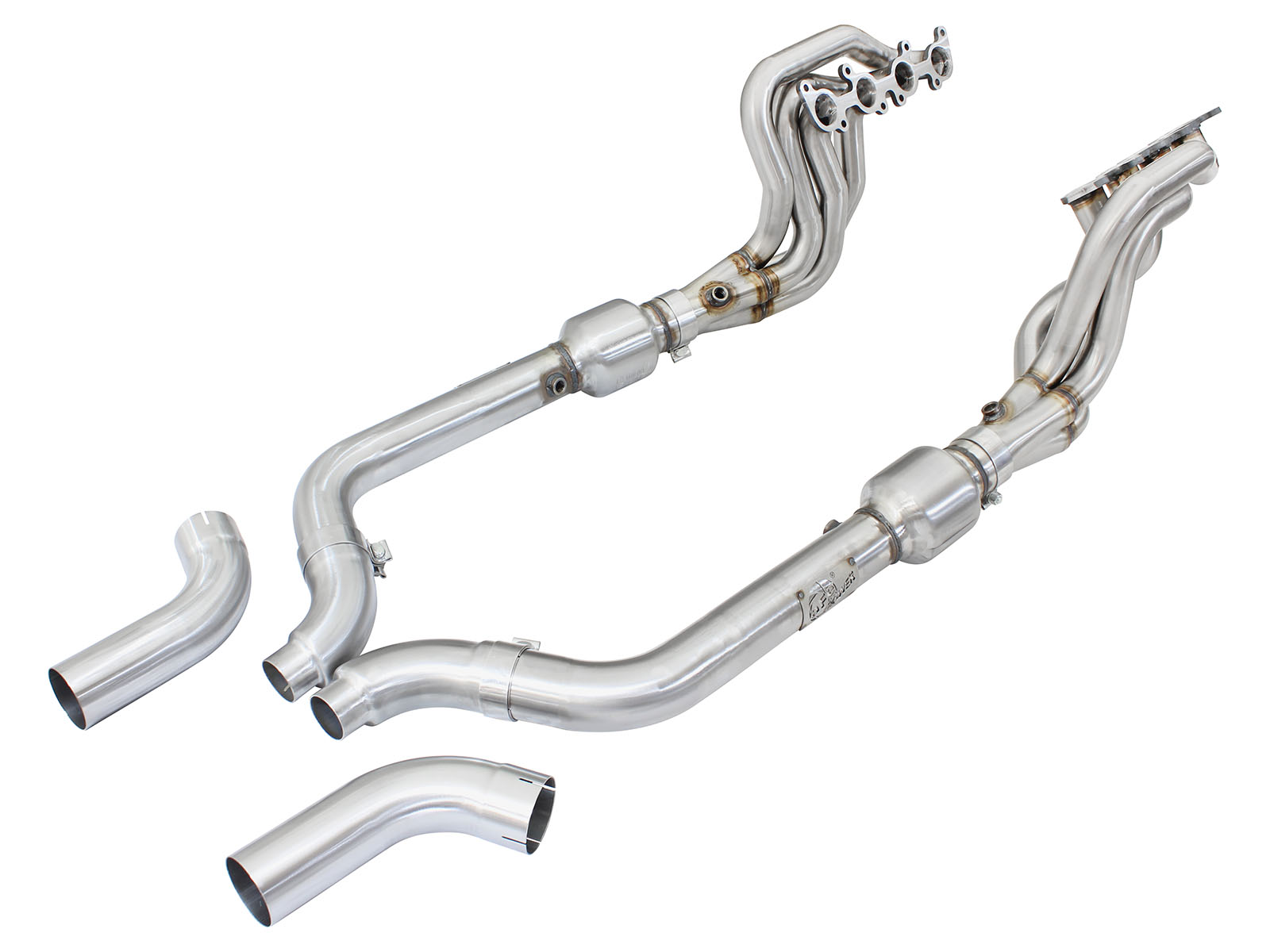 Ford Mustang 2015 GT 5.0 headers w-cats 1