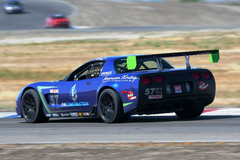 PA construction racing corvette 1