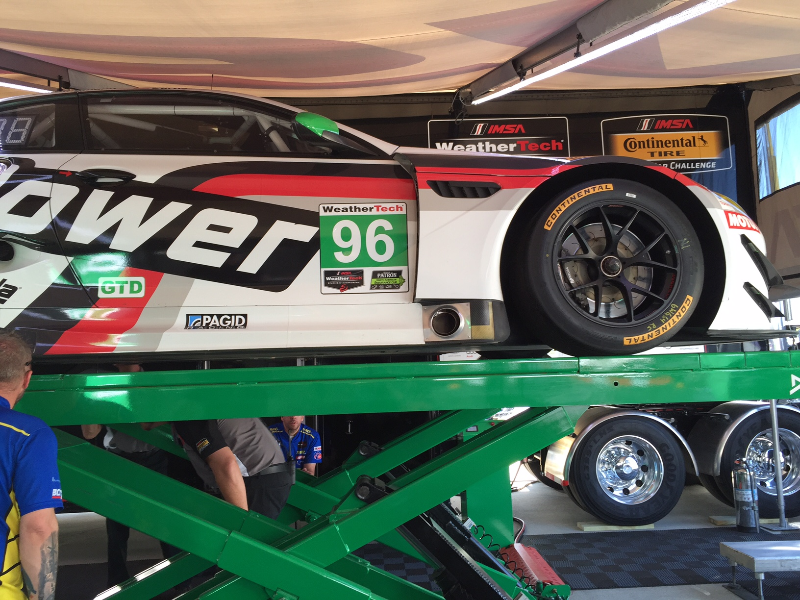 M6 GT3 at tech inspection 4